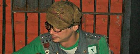 Detroit artist and musician Stretch Adams